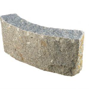 Granit Kantsten Porto/Roriz 12*30 cm Radius 10M Grå Porto